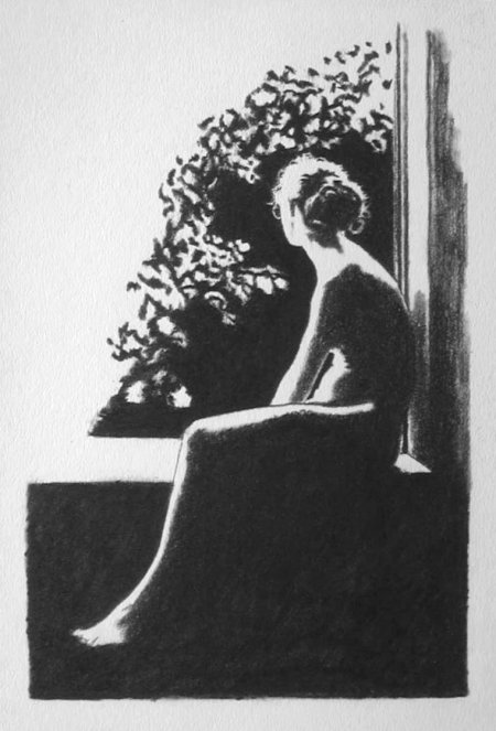 Woman on Window